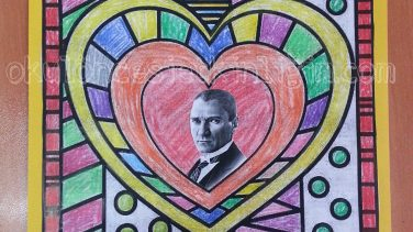 Boyama Sayfası Atatürk Etkinliği Okul öncesi Etkinlikleri
