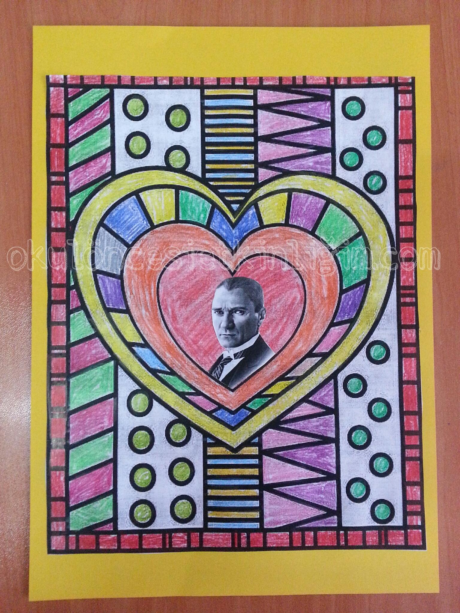 Okuloncesi Ataturk Kosesi Okul Oncesi Etkinlikleri