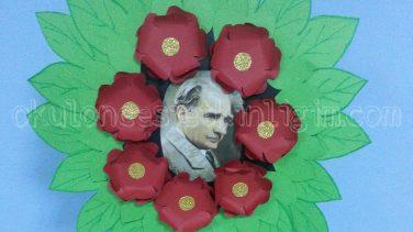 Çelenk Yapımı – Atatürk Etkinliği (Resimli Anlatım)