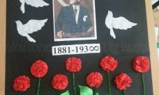 Pano Çalışması – Atatürk Etkinliği