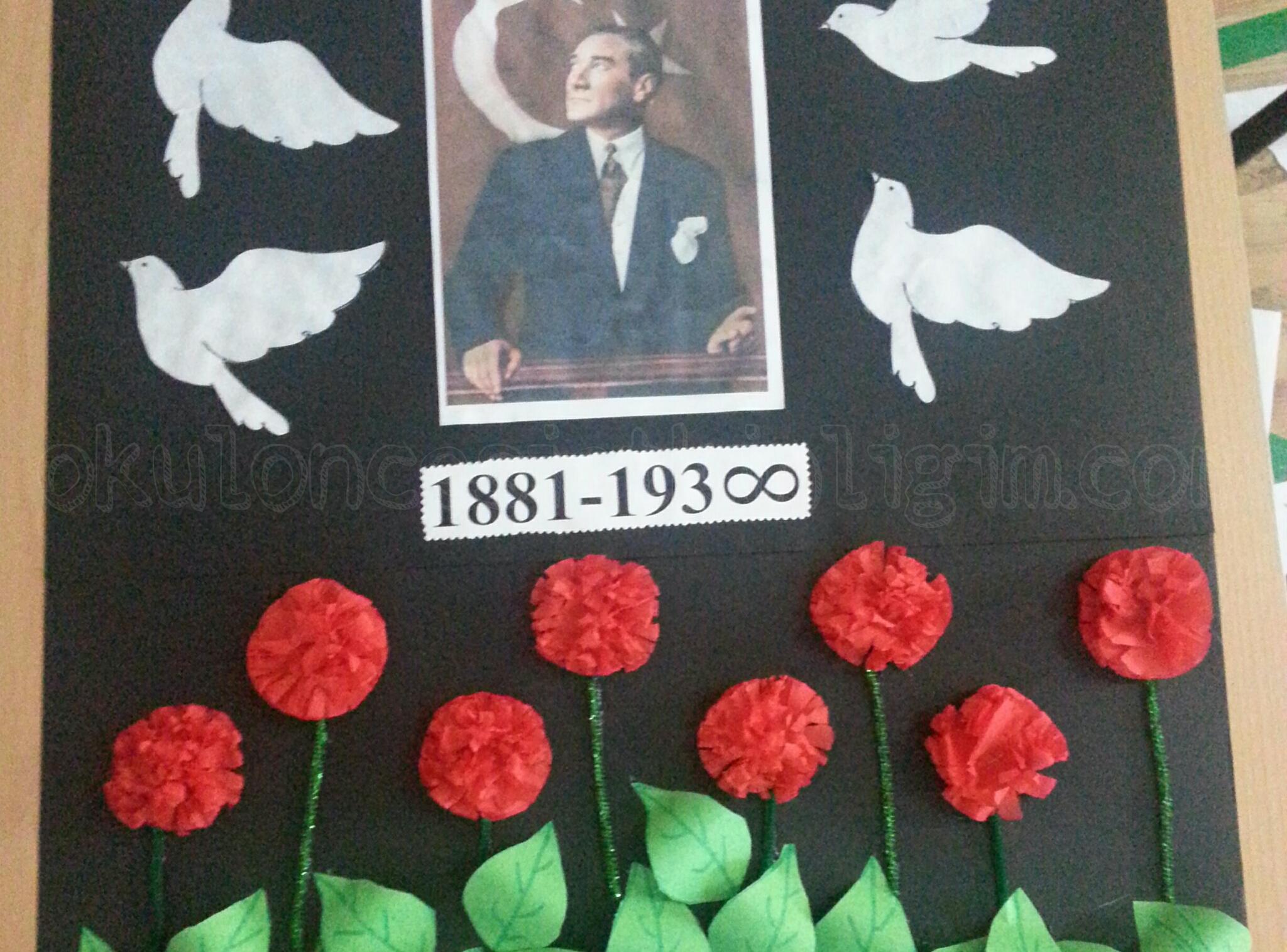 Ataturk Ve Bayrak Etkinlikleri Okul Oncesi Etkinlikleri