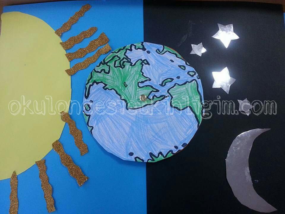 Gece Gunduz Sanat Etkinligi Okul Oncesi Etkinlikleri