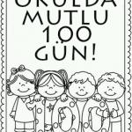 100 Gün Etkinlikleri Okul öncesi Etkinlikleri