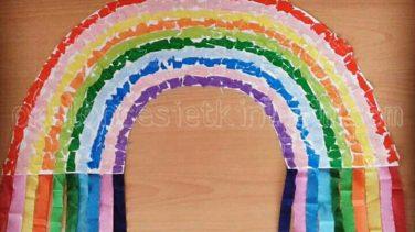 Gökkuşağı Sanat Etkinliği Okul öncesi Etkinlikleri