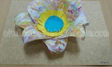 Ebruli Kağıttan Çiçek Yapımı