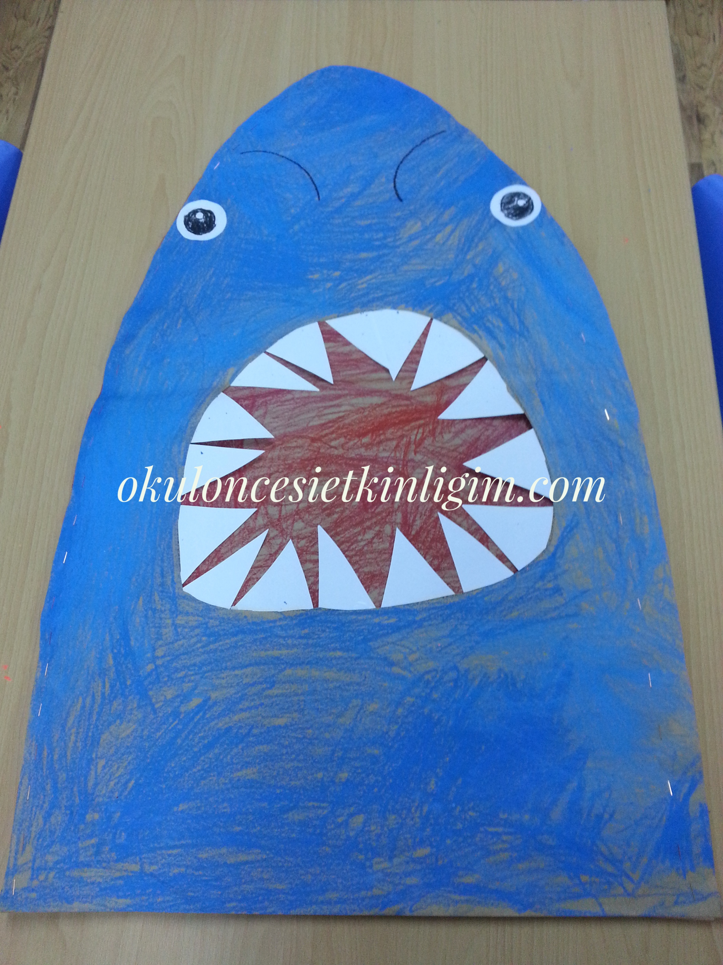 Dev Köpek Balığı Okul öncesi Etkinlikleri